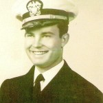 Bud was an officer in the Navy during WWII.