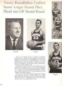 AHS 1964 Basketball