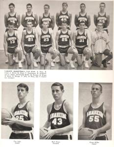AHS 1964 Basketball team