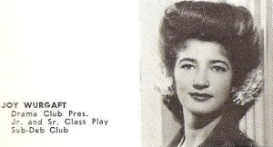 Joy Wurgaft 1945
