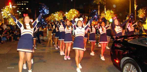 Anaheim High Marches in the 91st Annual Halloween Parade
