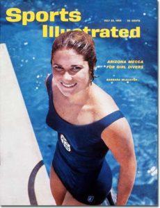 Barbara McAlister - Diver July 23, 1962 X 8550 credit: John G. Zimmerman - staff