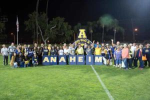 Anaheim High Celebrated During Homecoming 2016