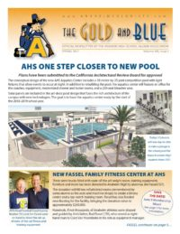 2017 Spring Gold & Blue Newsletter